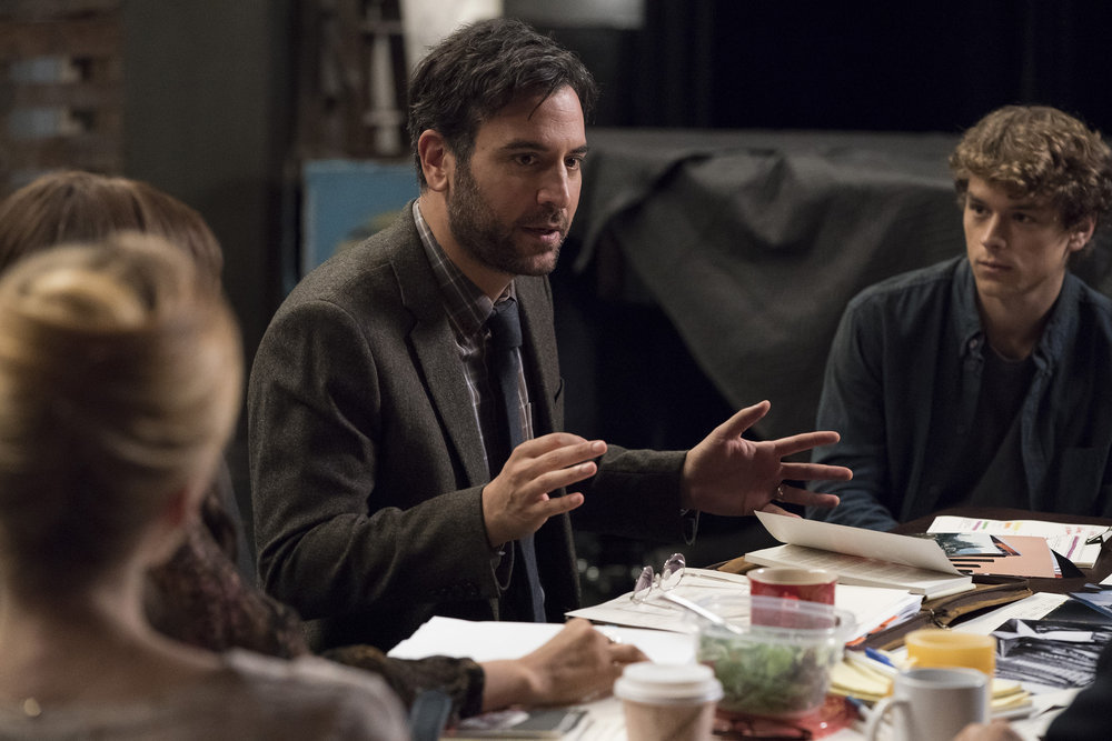 Josh Radnor and Rarmian Newton in Rise (2018)