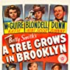 Joan Blondell, James Dunn, Ted Donaldson, Peggy Ann Garner, Dorothy McGuire, and Lloyd Nolan in A Tree Grows in Brooklyn (1945)