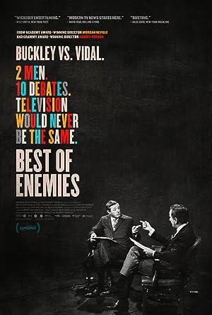 Best of Enemies: Buckley vs. Vidal Pelicula Poster