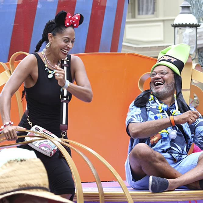 Laurence Fishburne and Tracee Ellis Ross in Black-ish (2014)