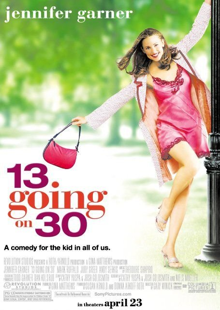 Image result for 13 going on 30 poster
