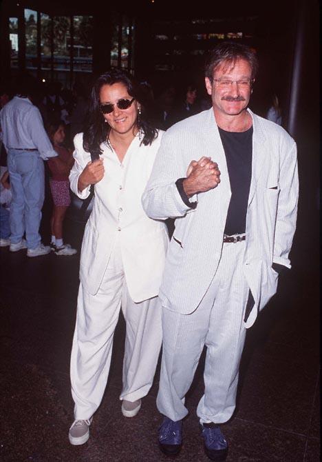 Robin Williams And Marsha Williams
