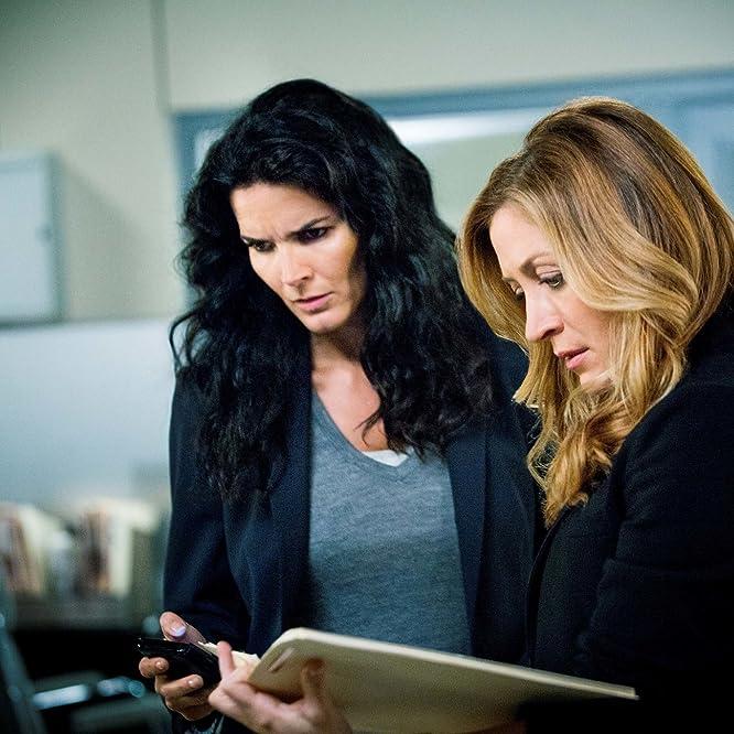 Angie Harmon and Sasha Alexander in Rizzoli & Isles (2010)