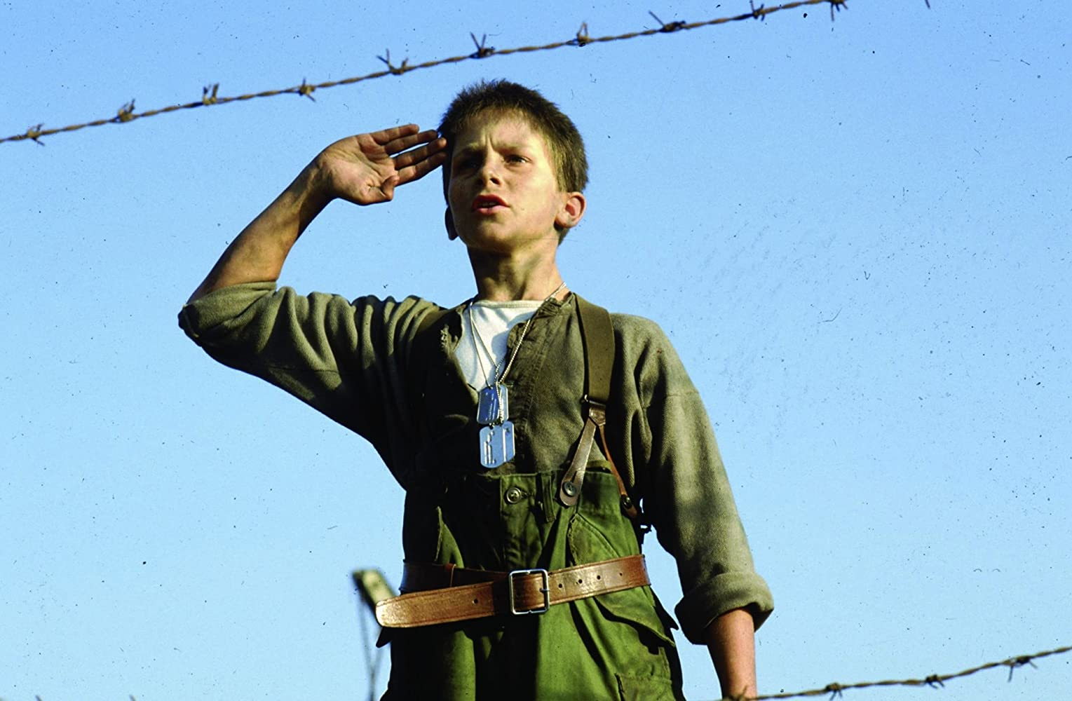 Christian Bale in Empire of the Sun (1987)