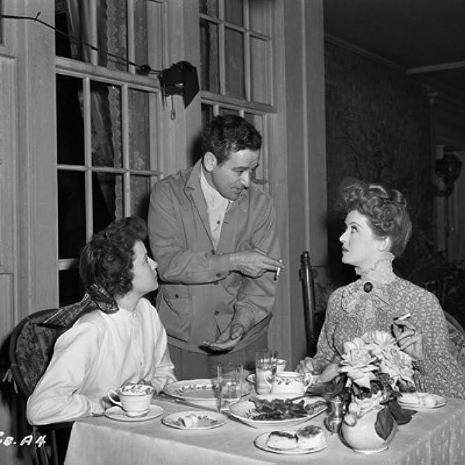 THE LITTLE FOXES, Teresa Wright, Director William Wyler, Bette Davis, Goldwyn