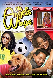 On Angel's Wings Poster