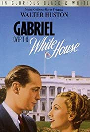 Gabriel Over the White House Poster