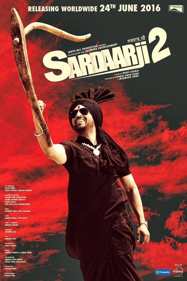 Sardaarji 2 2016 Punjabi 700MB DVDRip 480p HD Print Watch online free downlod Here