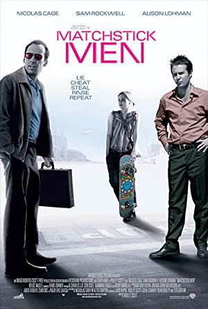 Matchstick Men poster