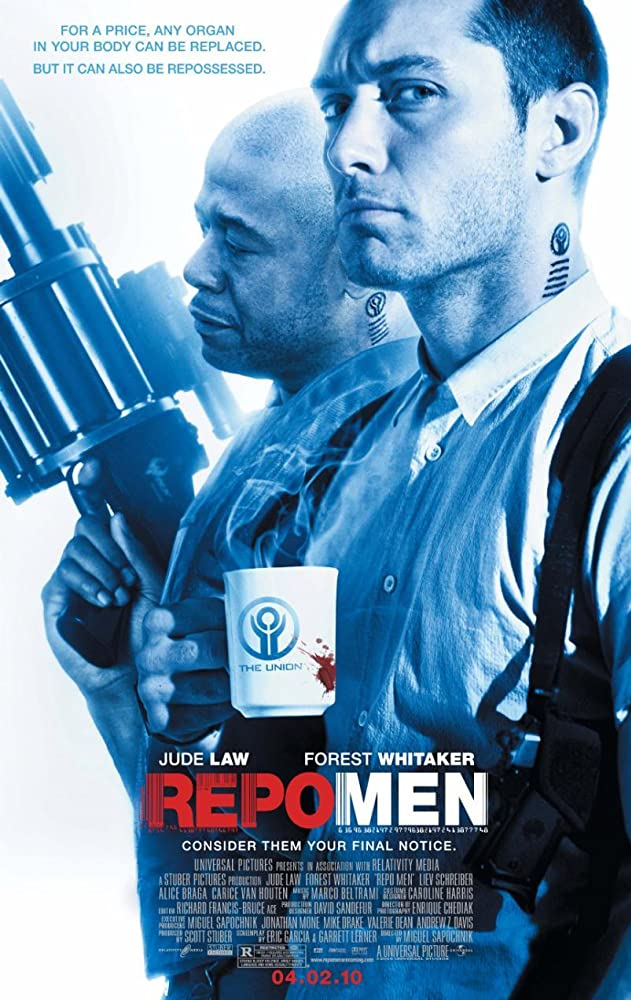 Repo Men 2010 UnRated 720p BRRip Dual Audio Watch Online Free Download