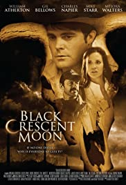 Black Crescent Moon Poster