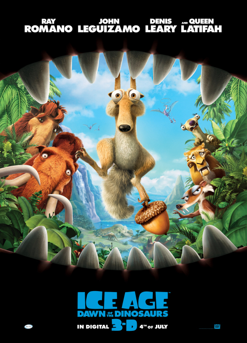 Still of Karen Disher, Clea Lewis and Eunice Cho in Ice Age: Dawn of the Dinosaurs (2009)