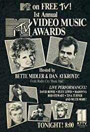1st Annual MTV Video Music Awards Poster