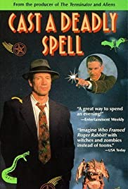 Cast a Deadly Spell Poster