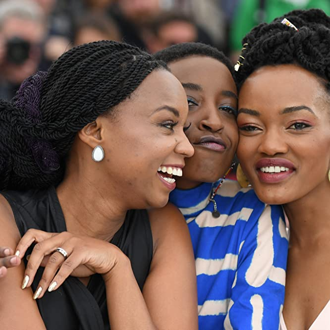 Wanuri Kahiu, Samantha Mugatsia, and Sheila Munyiva at an event for Rafiki (2018)