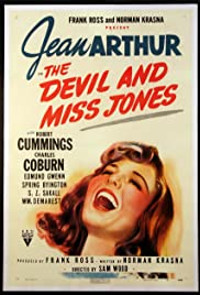 The Devil and Miss Jones Poster