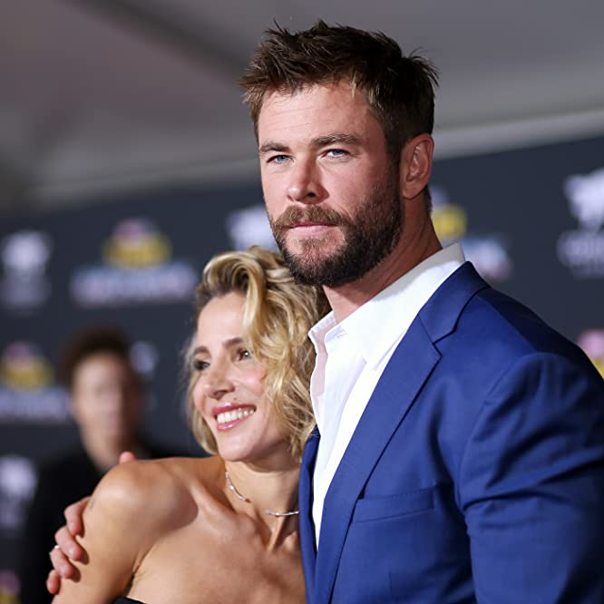 Elsa Pataky and Chris Hemsworth at an event for Thor: Ragnarok (2017)