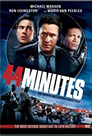 44 Minutes: The North Hollywood Shoot-Out Poster