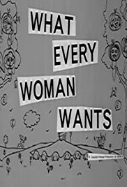 What Every Woman Wants Poster