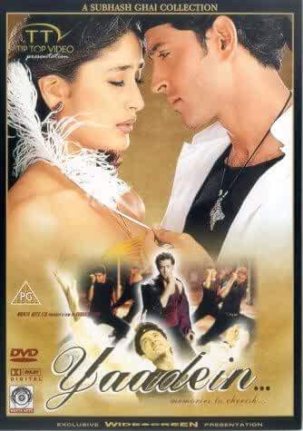 Yaadein 2001 Full Hindi Movie 720p HDRip 1.5GB Download
