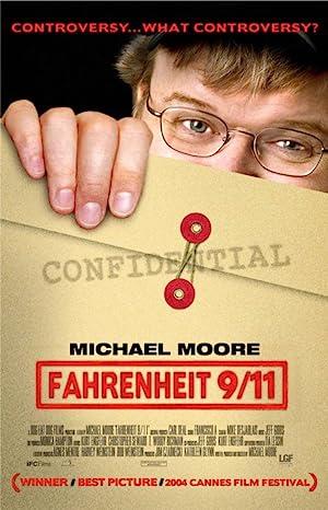 Fahrenheit 9/11 poster