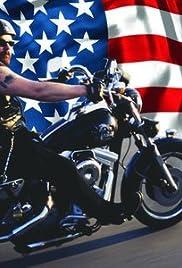 American Biker Poster