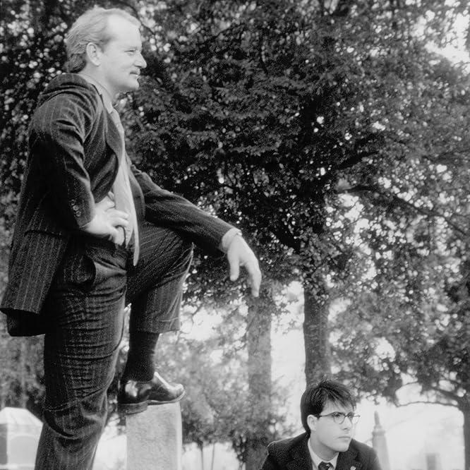 Bill Murray and Jason Schwartzman in Rushmore (1998)