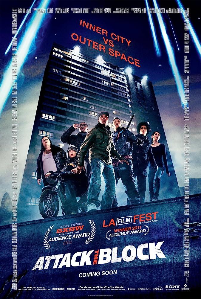 Risultati immagini per attack the block poster