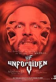 WWF Unforgiven Poster