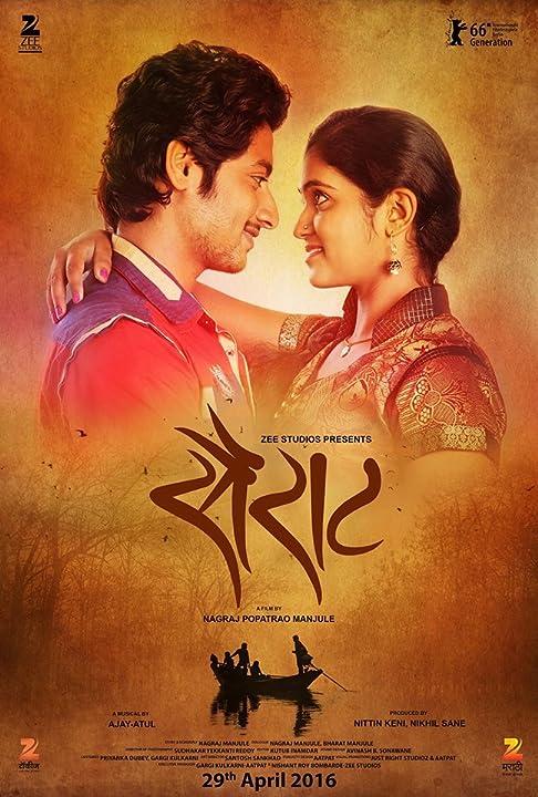 Sairat 2016 Marathi Full Movie 480p CAMRip 700MB
