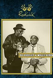 Bo Diddley - Willie Dixon: RockWalk Induction Poster