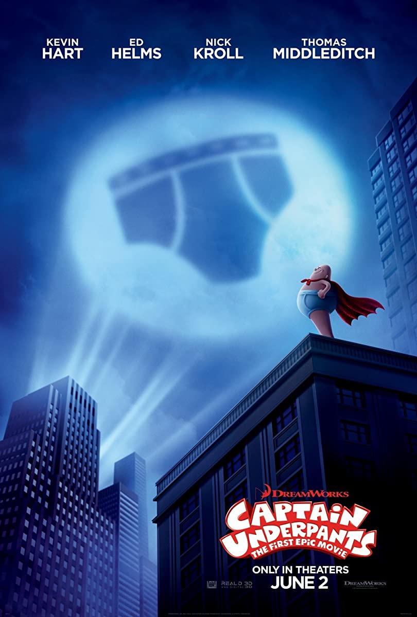 Kapitonas bekelnis / Captain Underpants: The First Epic Movie (2017
