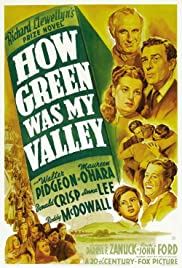 How Green Was My Valley Poster