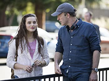 Tom McCarthy and Katherine Langford in 13 Reasons Why (2017)