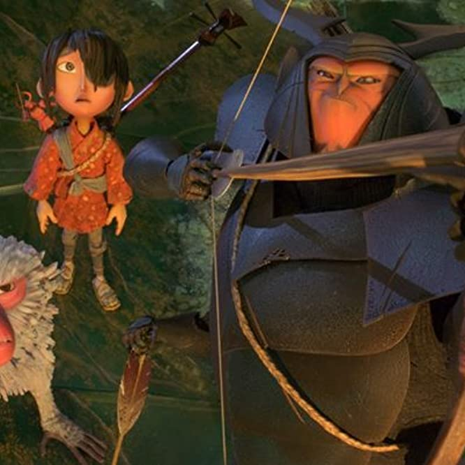 Matthew McConaughey, Charlize Theron, and Art Parkinson in Kubo and the Two Strings (2016)