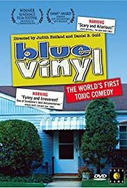 Blue Vinyl Poster