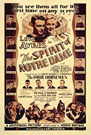 The Spirit of Notre Dame Poster
