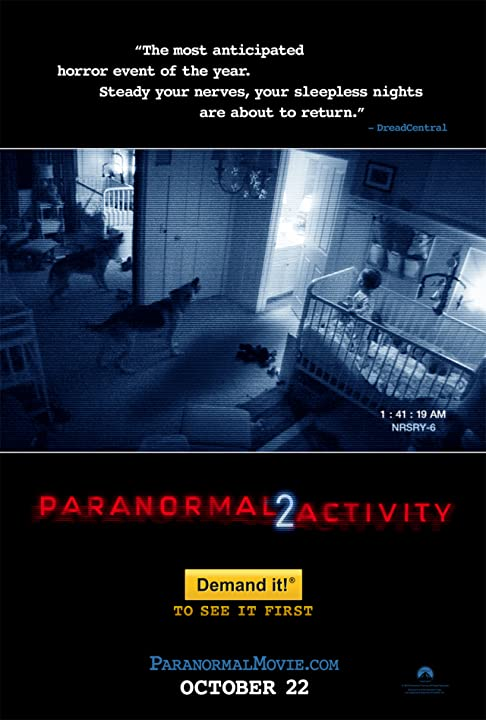 DOWNLOAD Paranormal Activity 2 (2010) UNRATED 720p 1.3GB BluRay [Dual Audio] [Hindi – English DD 5.1] MKV.