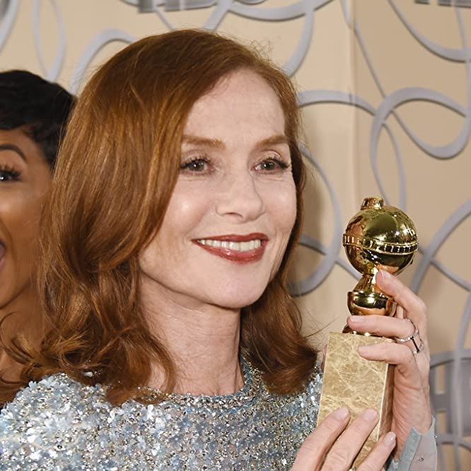 Isabelle Huppert at an event for The 74th Golden Globe Awards (2017)