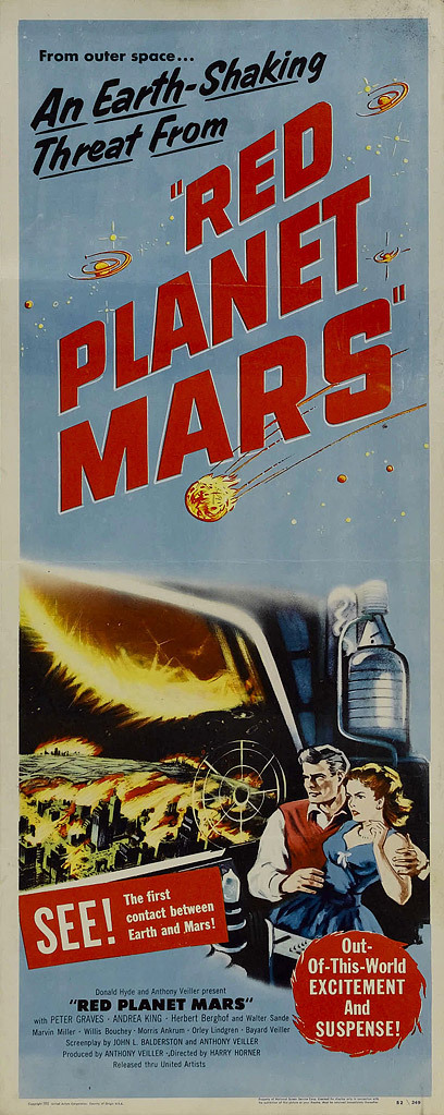 red planet mars 1952 dvd - photo #9