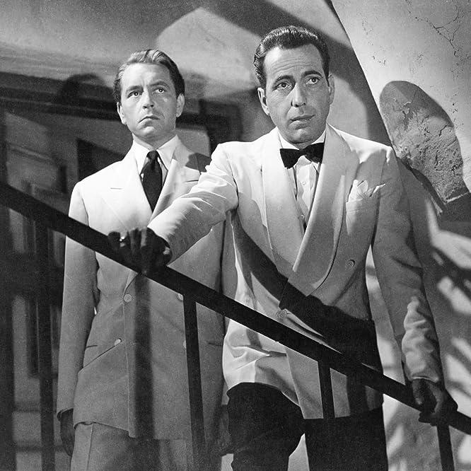 Humphrey Bogart and Paul Henreid in Casablanca (1942)