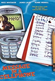 Message in a Cell Phone Poster