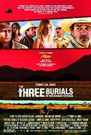The Three Burials of Melquiades Estrada Poster
