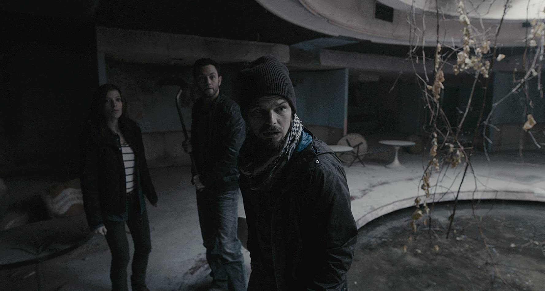Nathan Phillips, Jonathan Sadowski, and Devin Kelley in Chernobyl Diaries (2012)
