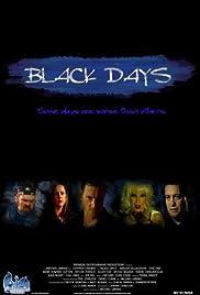 Black Days Poster