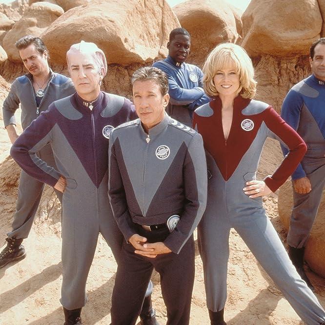 Sigourney Weaver, Alan Rickman, Tim Allen, Tony Shalhoub, Sam Rockwell, and Daryl Mitchell in Galaxy Quest (1999)