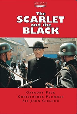 The Scarlet and the Black poster