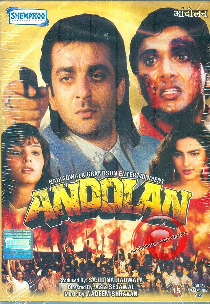 Andolan (1995) Hindi 720p HDRip x264 1.2GB