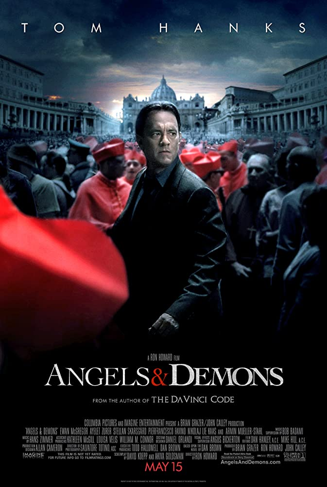Angels And Demons (2009) Dual Audio Hindi EXTENDED 450MB BluRay 480p x264