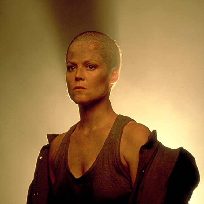 Sigourney Weaver in Alien³ (1992)